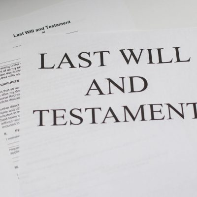 What is your Last Will and Testament?